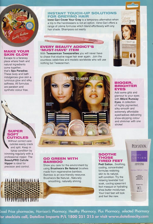 BCL Pedi Sation Foor Lotion in OK! Magazine