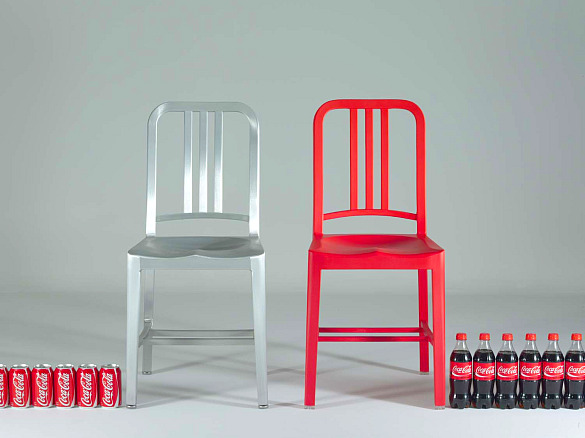 DESIGN FETISH Coca Cola Recycled Bottle Chair