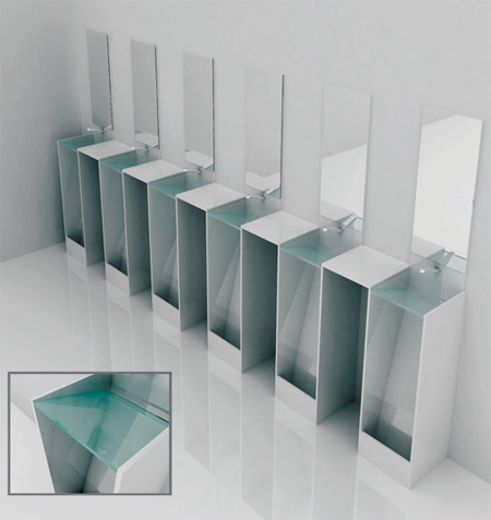 Of All Design: Urinal And Sink Combo