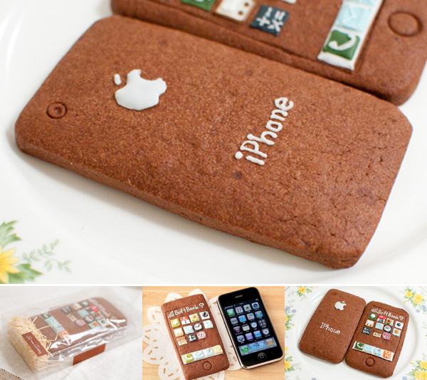 Geek Art Gallery Cake iPhone Cookies