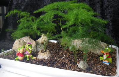 Miniature Garden: School is almost done