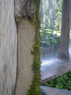Minter Gardens - cement Waterfall
