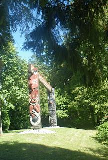 Coast Salish Gateway, Stanley Park, Vancouver