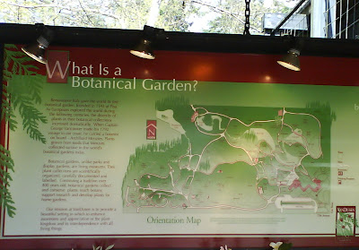 VanDusen Botanical Garden Orientation Map