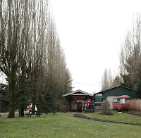 Greater Vancouver Zoo - Santa's train