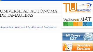 uat, inscripciones uat, correo uat, universidad autonoma de tamaulipas