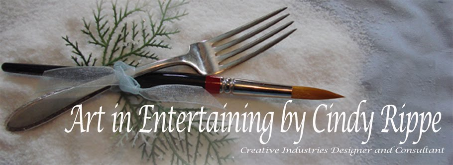 Art in Entertaining by Cindy Rippe