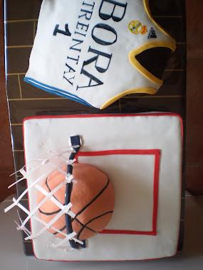 "tamaño de la tarta de baloncesto. para un ""futuro paul gasol"""