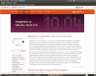 Ubuntu Midori