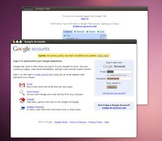 Sign in Ubuntu Google Talk