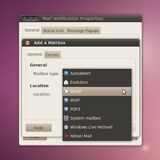 Ubuntu email