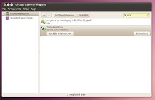 Tüzfal Ubuntu