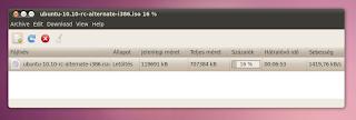 Letöltésvezérlő ubuntu linux