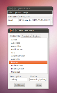 Ubuntu set up time zone