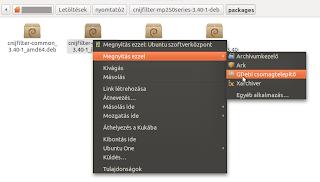 Ubuntu canon mp 250 telepítése