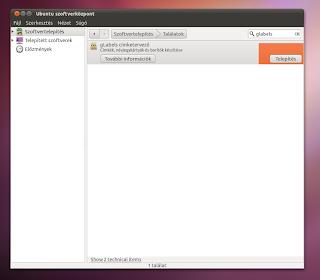 Glabels névjegykártya készítő Ubuntu