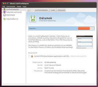 Szervező Ubuntu