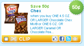 chocolate chex mix coupon