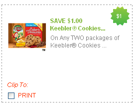 keebler cookies coupon
