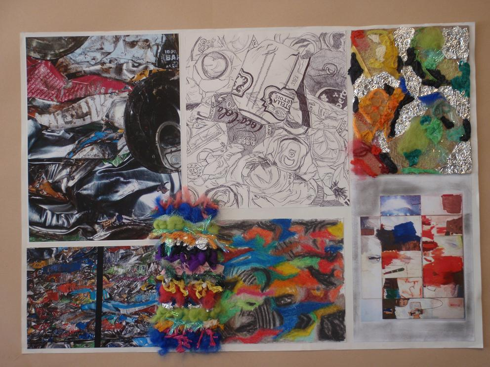 art and design coursework