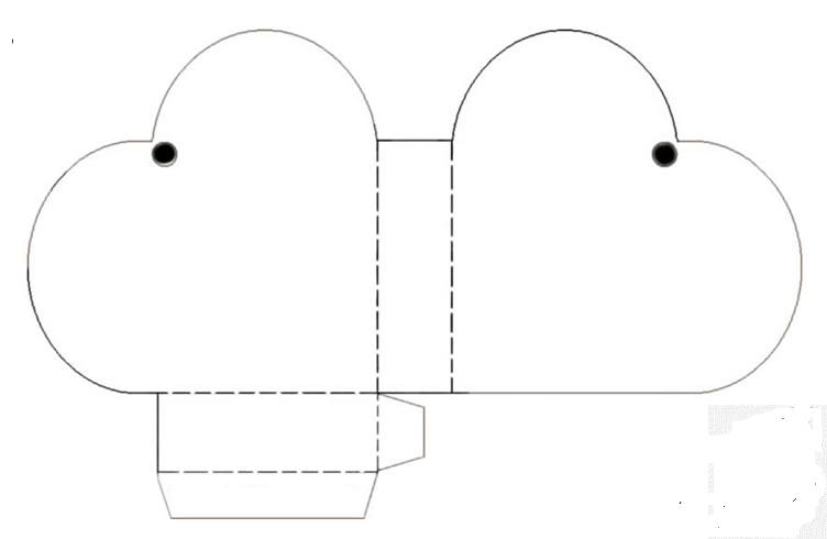 Moldes de cajas de carton corrugado para imprimir - Imagui
