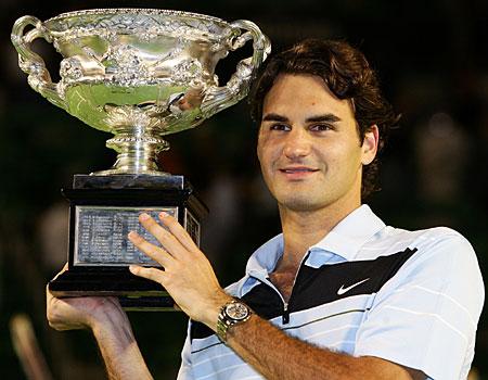 Roger Federer.  Roger Federer