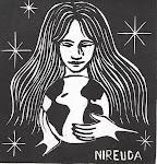 Xilogravura: Mãe Terra - Nireuda Longobardi.