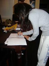 Angela Signing NLI
