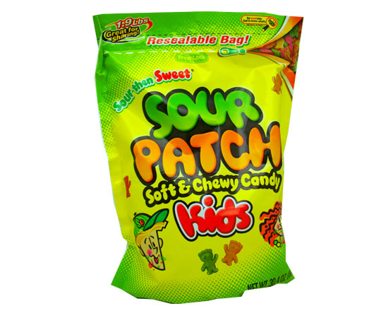sour patch kids are my favorite candy to get on halloween it is a soft candy with a coating of sour sugar there are many flavors but the most popular is