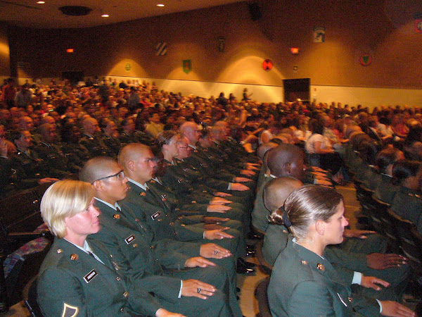 Basic training graduation