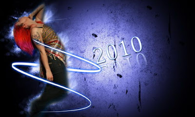 best 2010 New Year Wallpapers