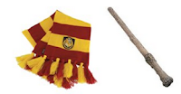 scarf and wand
