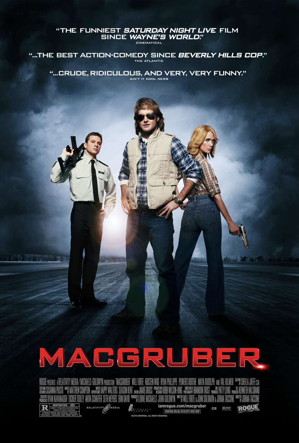 Cinema Film: macgruber movie trailer