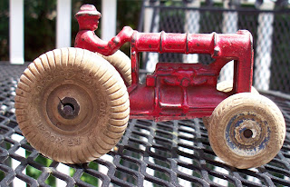 Vintage Thingies Thursday: Red Tractor