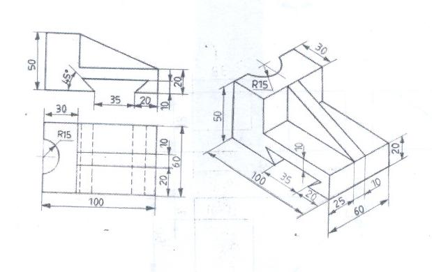 Orthographic Projections By Shelke together with Isometric Drawing additionally Chapter 3 Learning To Detail Part Drawings in addition Coupling machine drawing additionally Revit Cars. on how projection sketch views