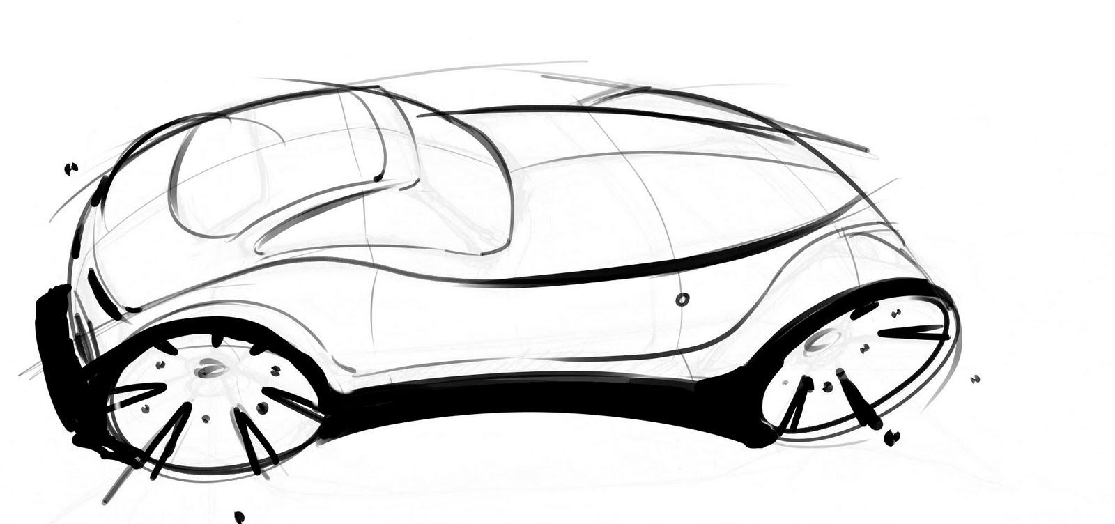 Alex Marshall: Car Sketch Walkthrough