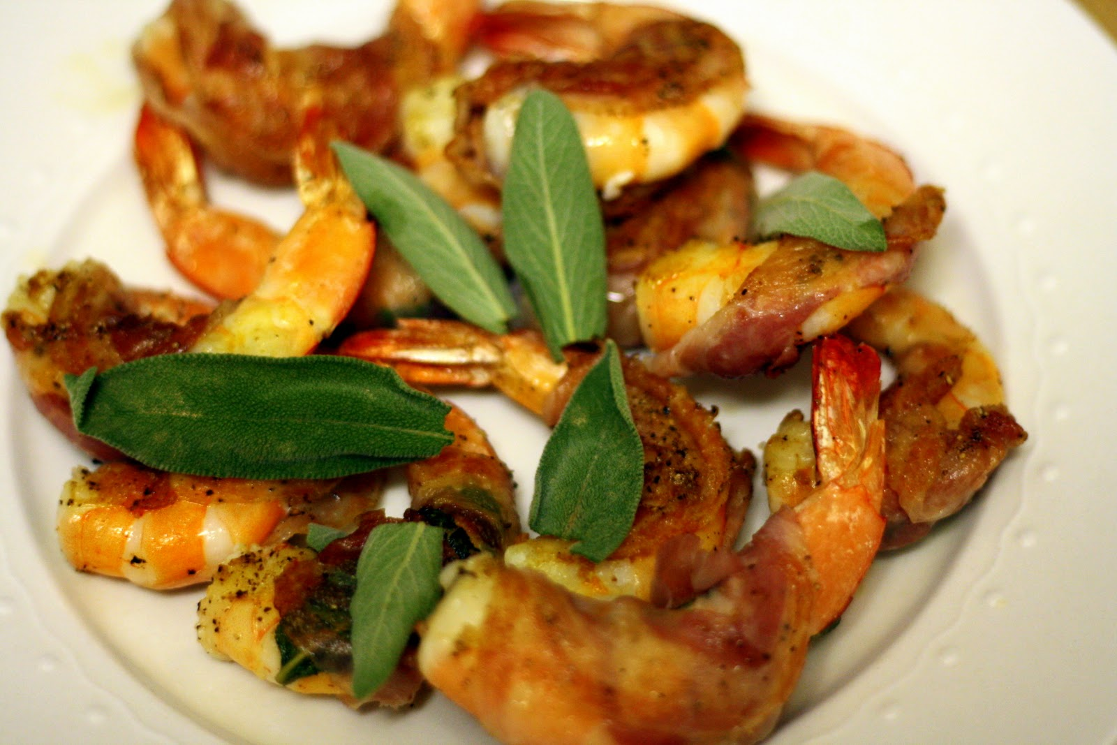 Shrimp Wrapped in Pancetta and Sage | Culinary Studio