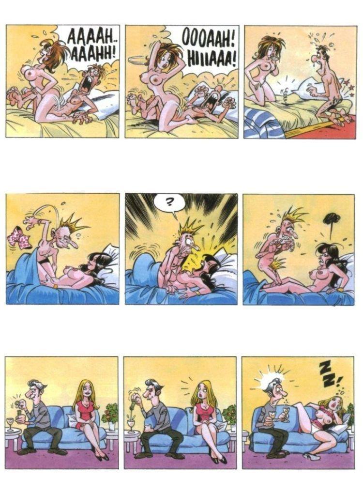 Комиксы смешные про секс