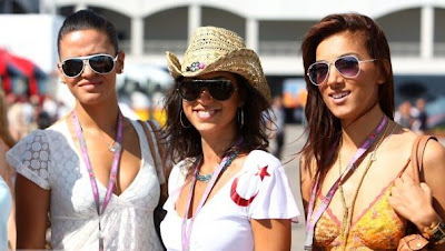 Models in the Paddock, F1 Grand Prix, Istanbul