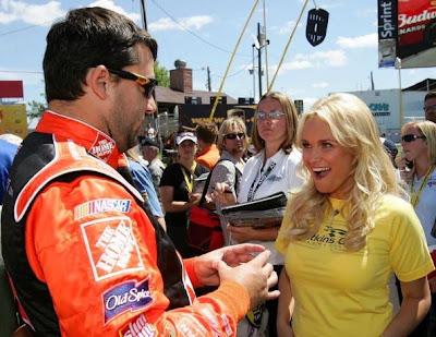 Kristin Chenoweth, Broadway Star, NASCAR Nextel Cup Series