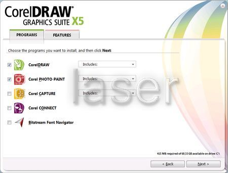 Creativity and power come together in CorelDRAW Graphics Suite X5.