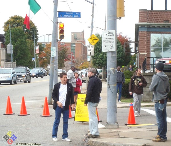 Jake Gyllenhaal Pittsburgh movie shoot