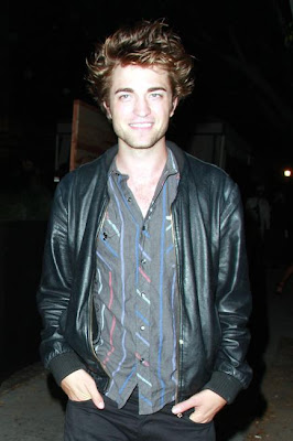 Robert Pattinson Leather Jacket on Robert Pattinson Wearing A Leather Jacket With A Salt Valley Short