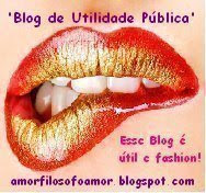 ESTE BLOG É ÚTIL E FASHION