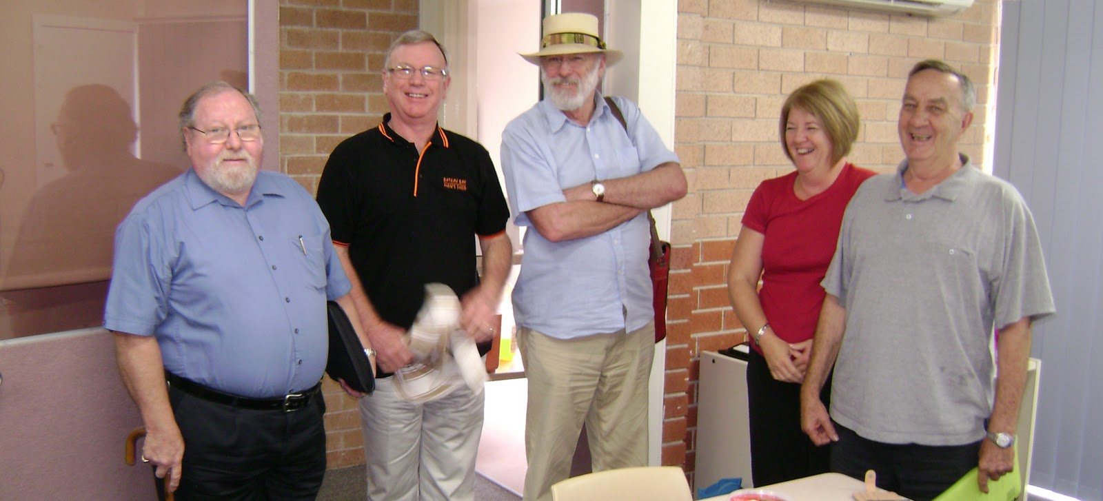 Men's Sheds - Central Coast: One committee .. four johns