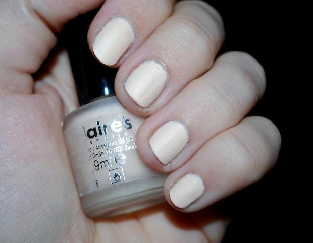 abc nails claire's beige matte