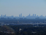 I zoomed in to get a closeup of the Atlanta skyline.
