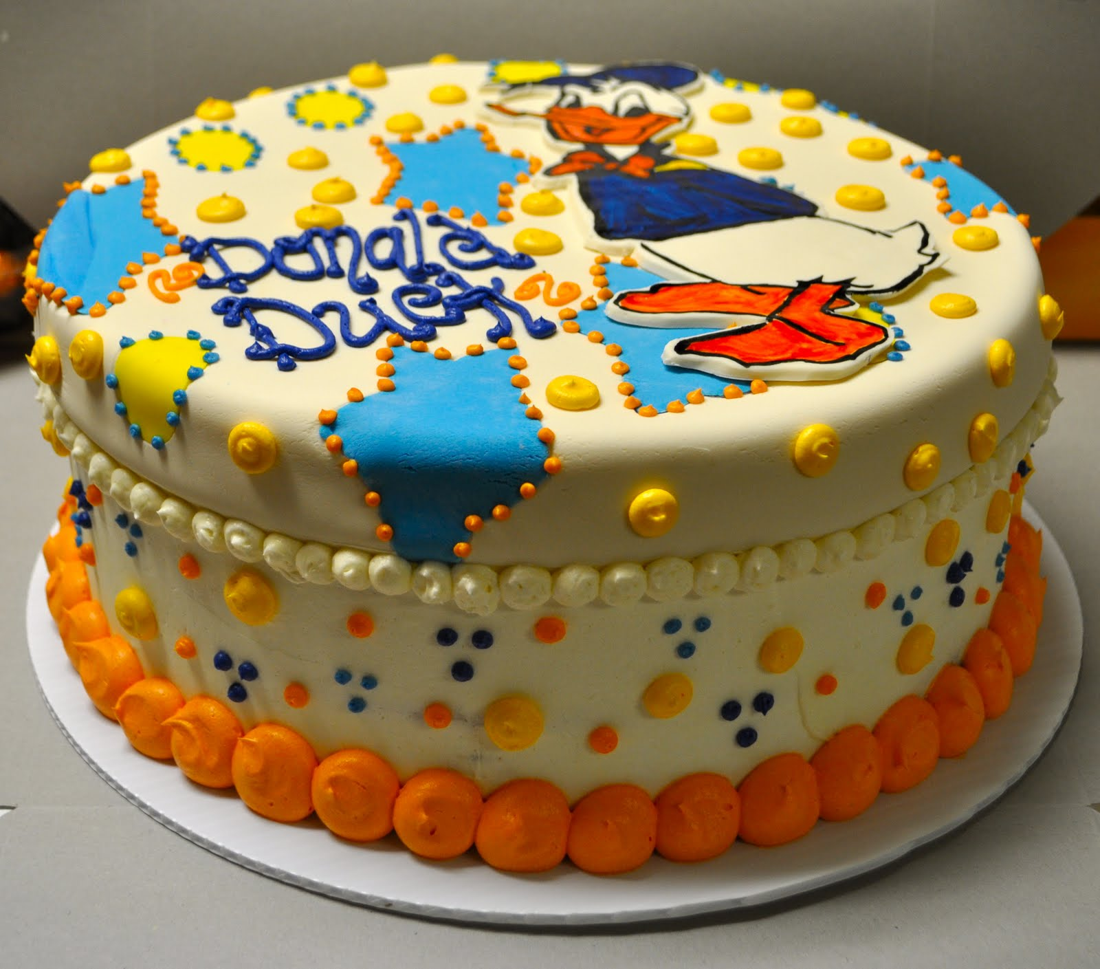 Coolest Cupcakes Donald Duck Cake