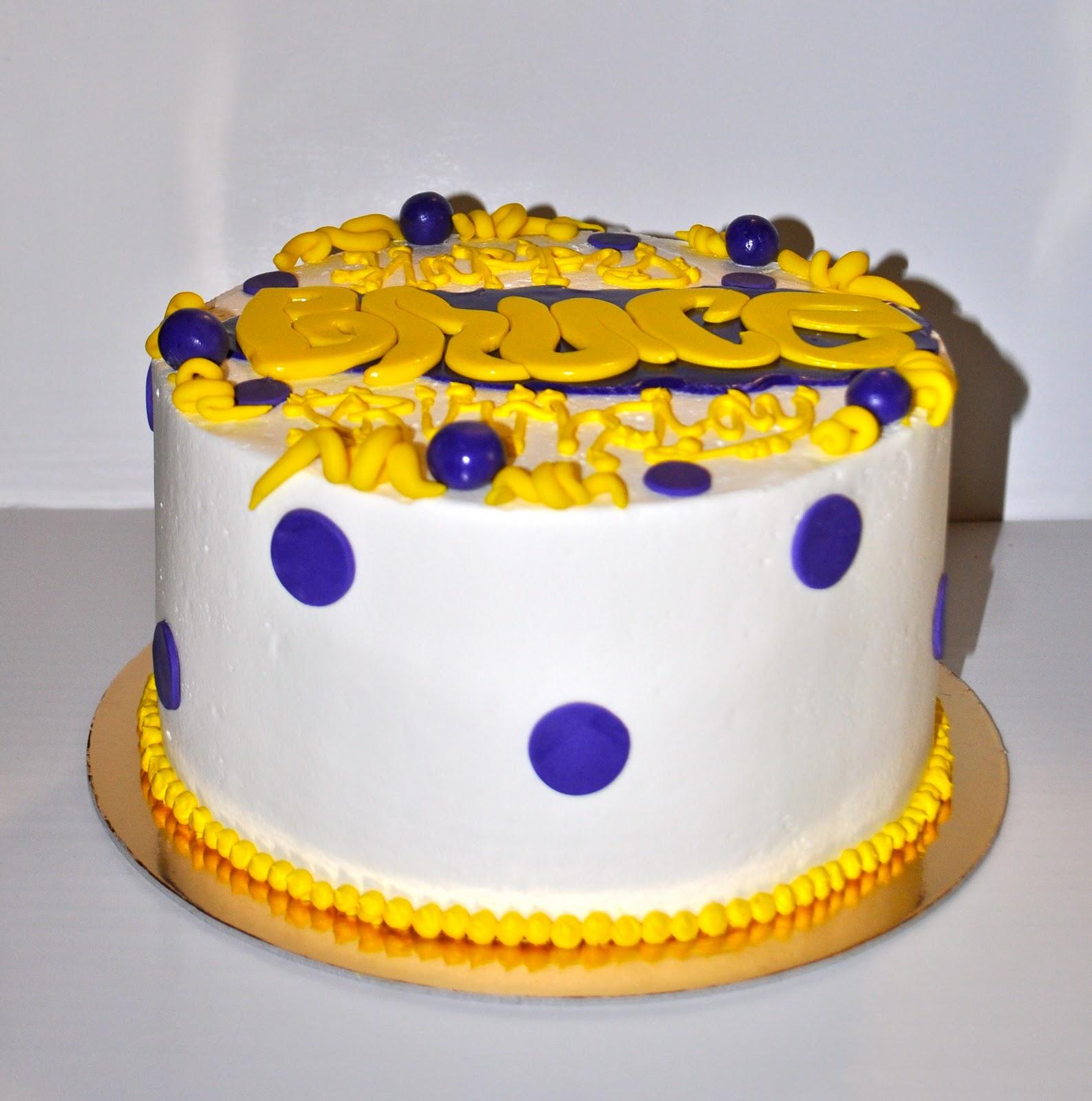 Lsu Birthday Cake Images