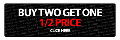 EB Games - Buy 2 and Get One 1/2 Price Promo